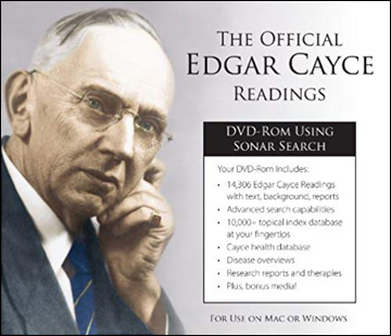 Edgar Cayce Readings DVD-ROM