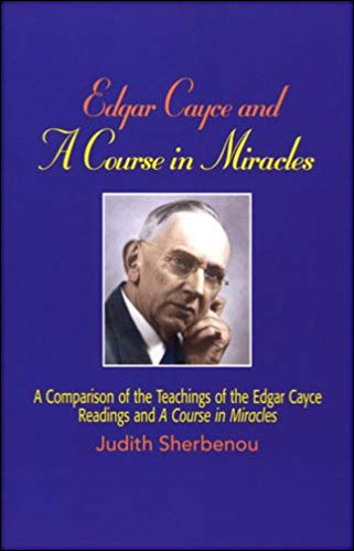 Cover of Edgar Cayce and A Course in Miracles