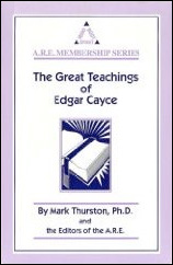 Cover of The Great Teachings of Edgar Cayce