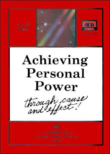 Achieving Personal Power Through Cause and Effect - Cassette Tape - Edgar Cayce Secrets of the Universe Series