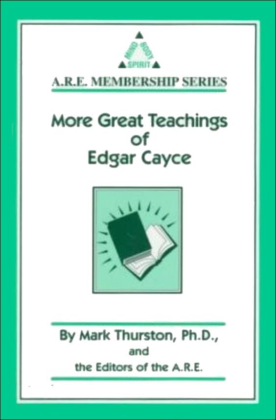 The Great Teachings of Edgar Cayce