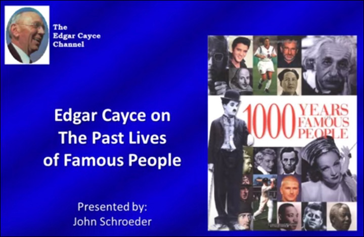 YouTube videos - David McMillin's Media Productions on Health and History according to the Edgar Cayce Readings